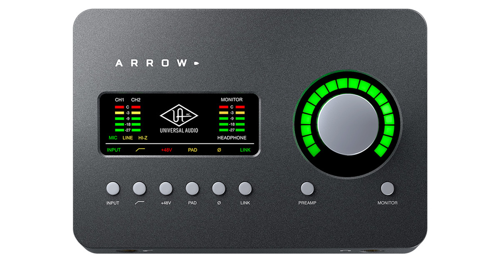 Universal Audio release Arrow bus-powered interface