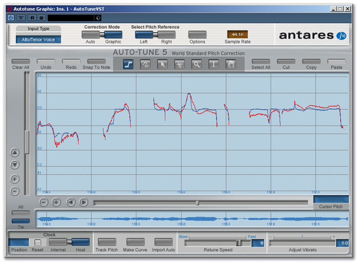 Auto-Tune vs Melodyne