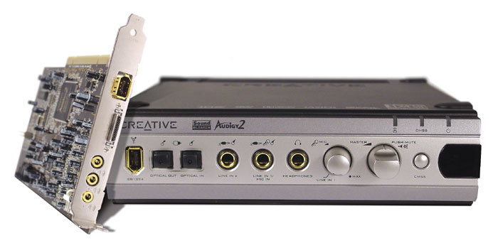 CREATIVE LABS SOUND BLASTER AUDIGY 2 ZS DRIVER UPDATE