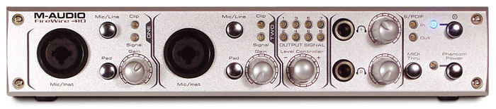 Pro Audio Equipment M-audio M-audio Firewire Audiophile Computer Recording Interface Bringing More Convenience To The People In Their Daily Life Audio/midi Interfaces