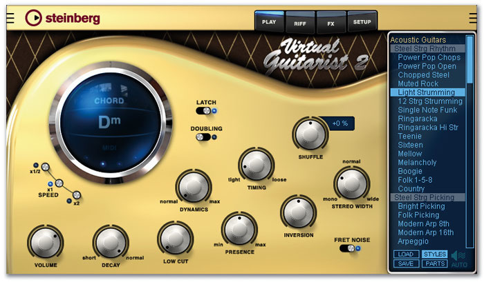 Music Lab Real Guitar 2L & Steinberg Virtual Guitarist 2