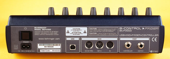 BEHRINGER BCF2000,BCR2000 USB MIDI WINDOWS 8.1 DRIVER