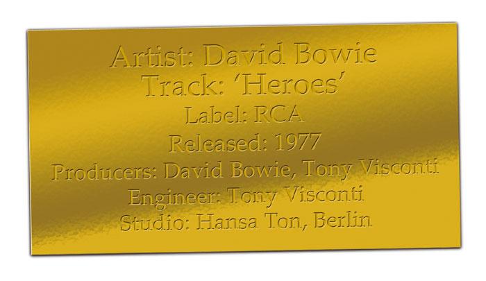 CLASSIC TRACKS: David Bowie 'Heroes'