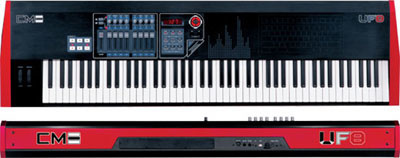 New MIDI controller keyboards from CME