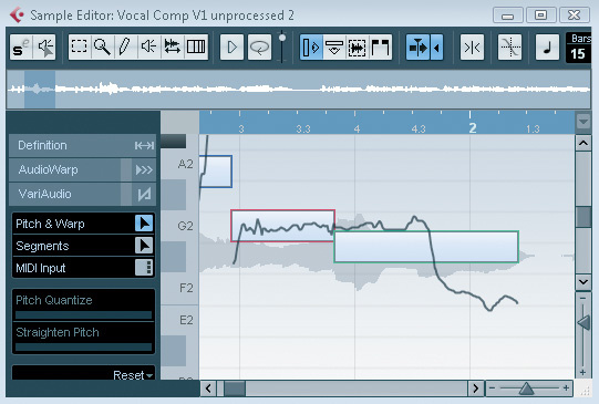 Pitch Perfect With VariAudio