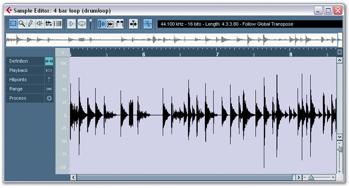 Audio Slicing