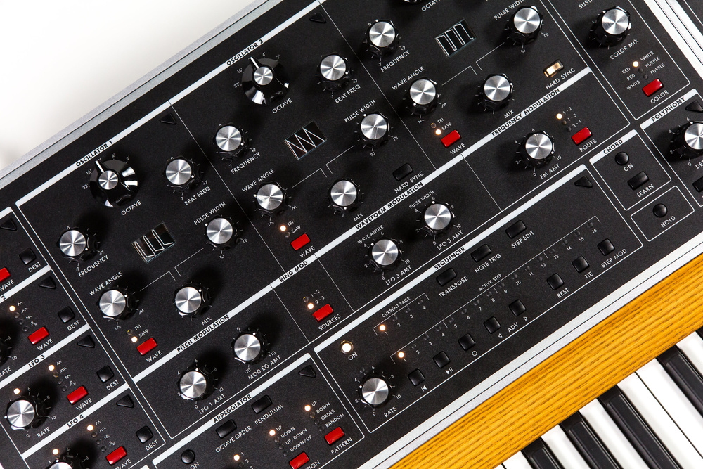 The birth of the Moog One