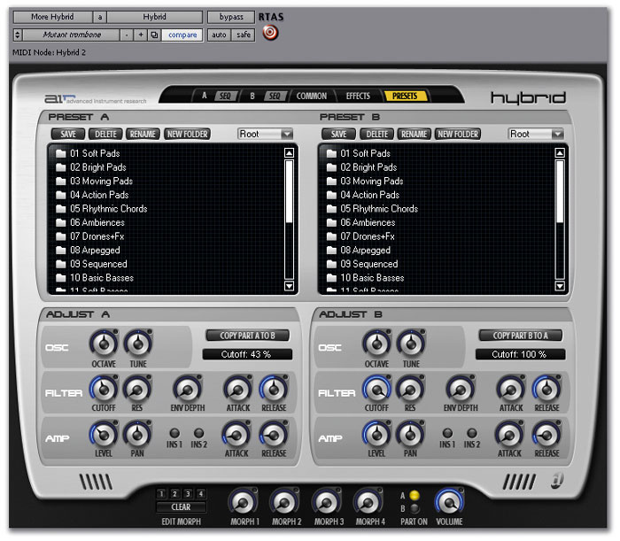 Digidesign Hybrid & Music Production Toolkit