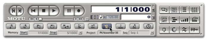 Using DP5's Improved Metronome Click