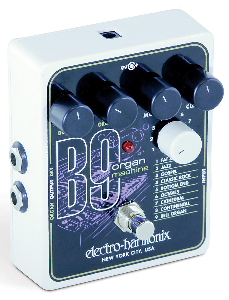 New EHX Electro Harmonix B9 Organ Pedal