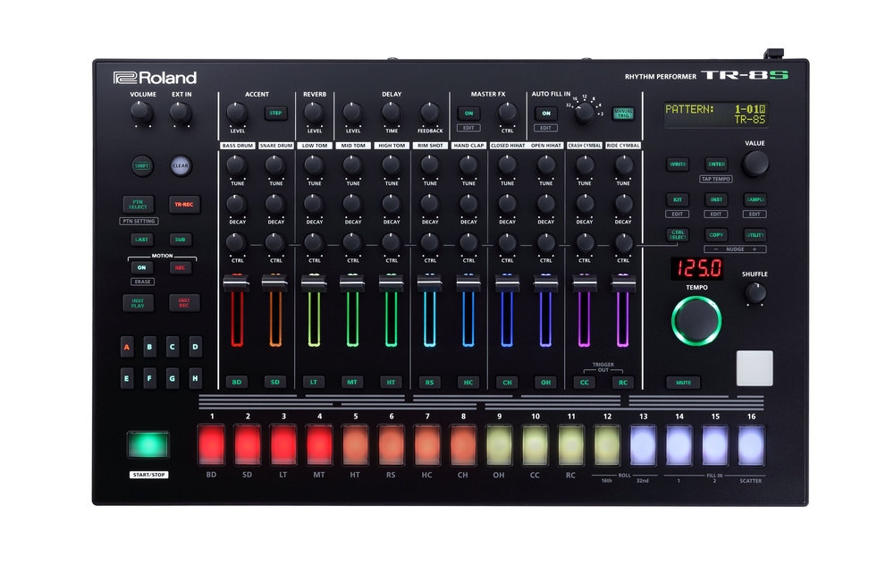 36a5653ff1432c Roland have this morning announced a brand new flagship drum machine  the TR-8S  Rhythm Performer. With the TR-8S