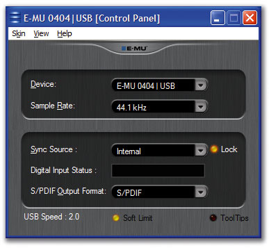 E-MU 0404 USB ASIO DRIVER FOR MAC