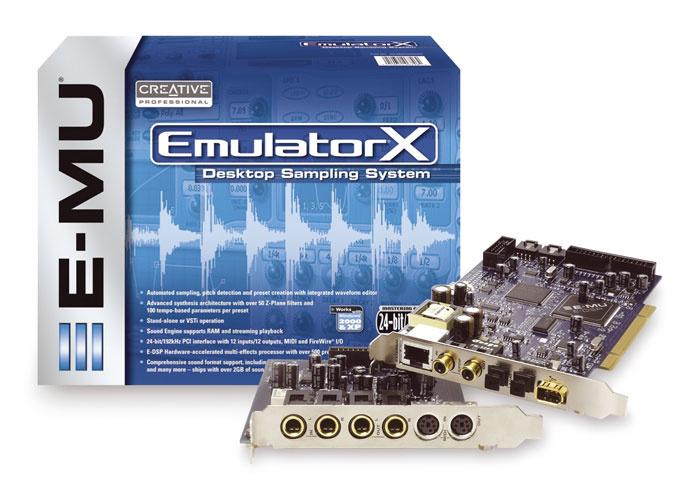 Driver for E-MU Emulator X