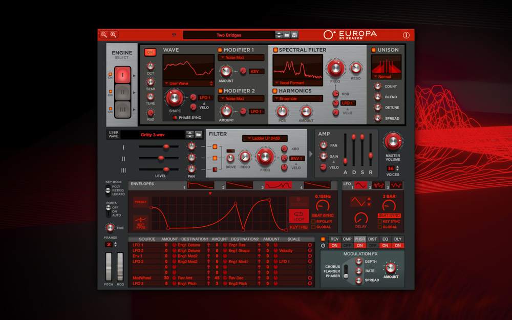 Reason Europa synth now out as VST/AU