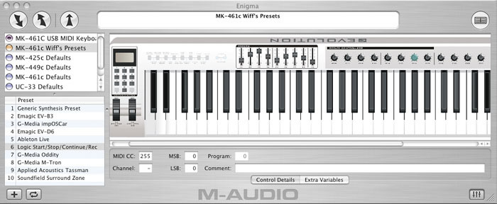 M-AUDIO EVOLUTION MK-449C WINDOWS 10 DOWNLOAD DRIVER