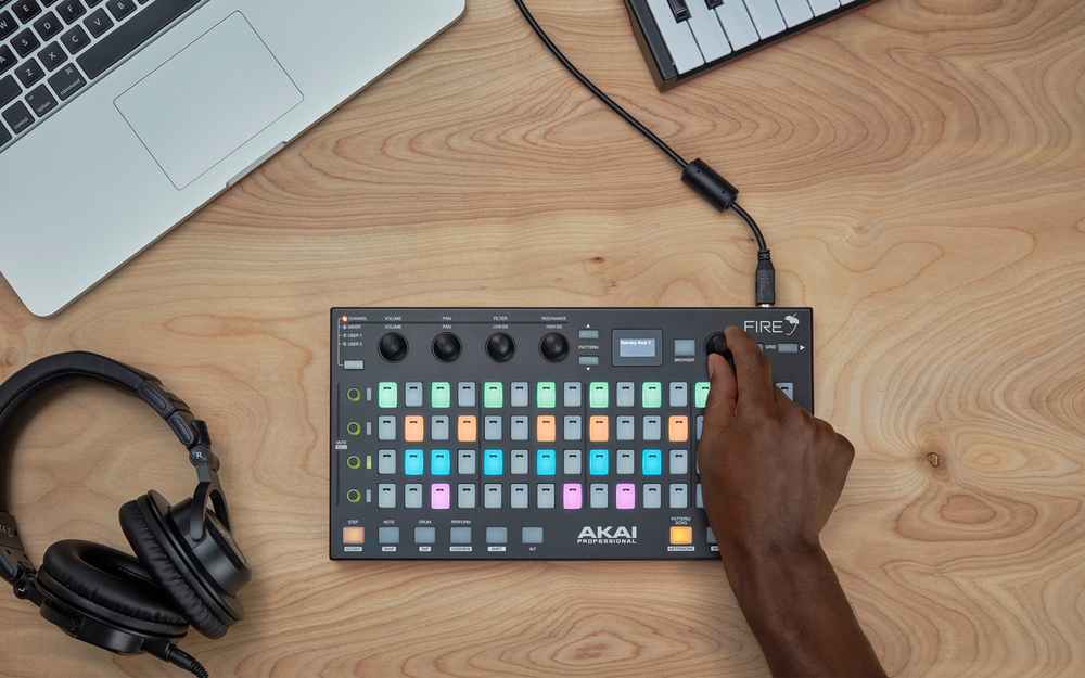 Akai Fire branded world's first controller for FL Studio