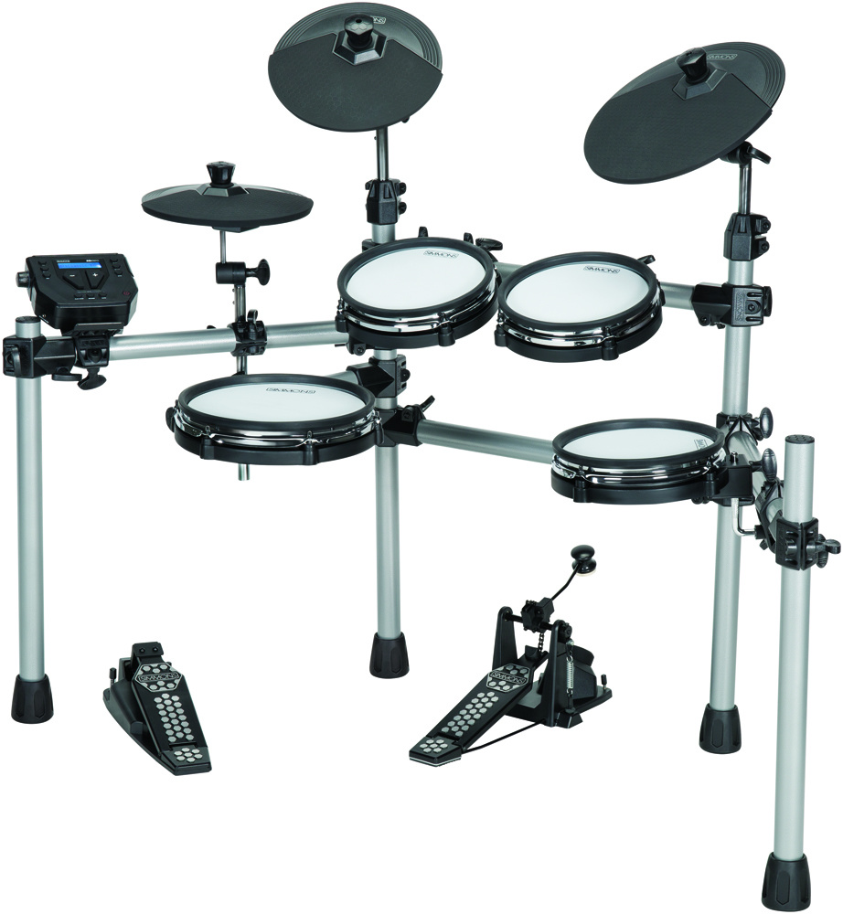 Electronic Drum Pioneers Simmons Reveal Sd550 Kit