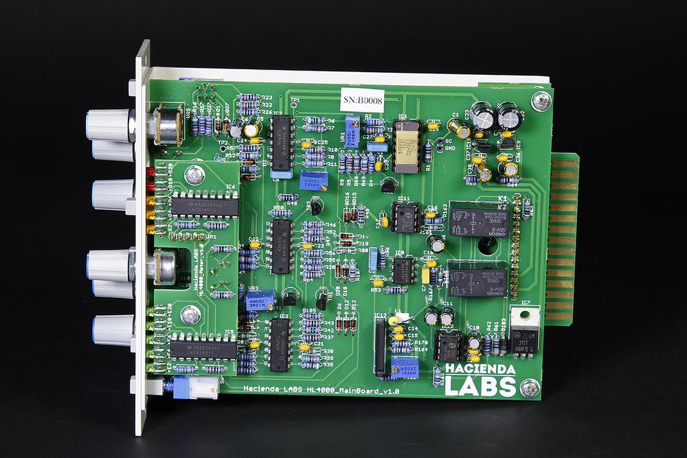 Hacienda Labs Mic Preamp & Compressor/Gate