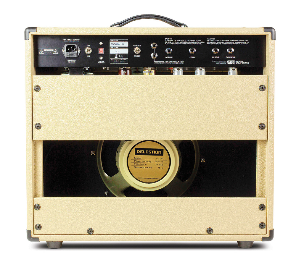 Hamstead Soundworks Artist 20 Rt Audio Line High End Preamplifier With Ics The Ukmade Celestion Creamback Speaker Is Fitted As Standard