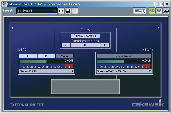 Hardware In The Software Studio