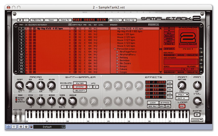 IK Multimedia Sampletank 2
