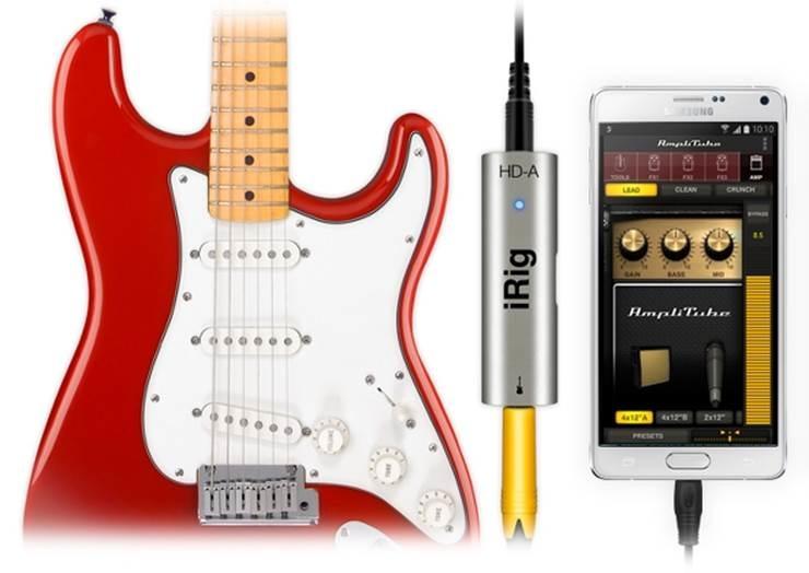 Amplitube & iRig HDA come to Samsung Pro Audio devices