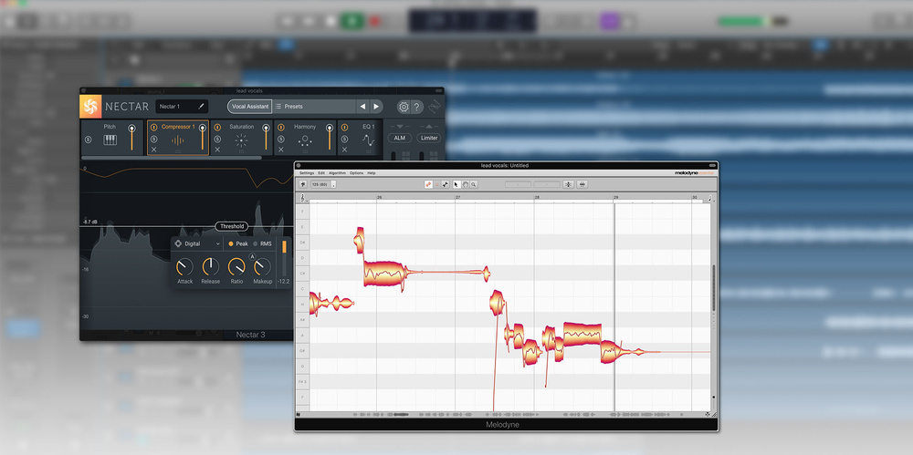 iZotope Nectar 3 to ship with Melodyne 4 essential