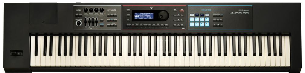Roland Juno-DS adds 88-key version, vocal FX