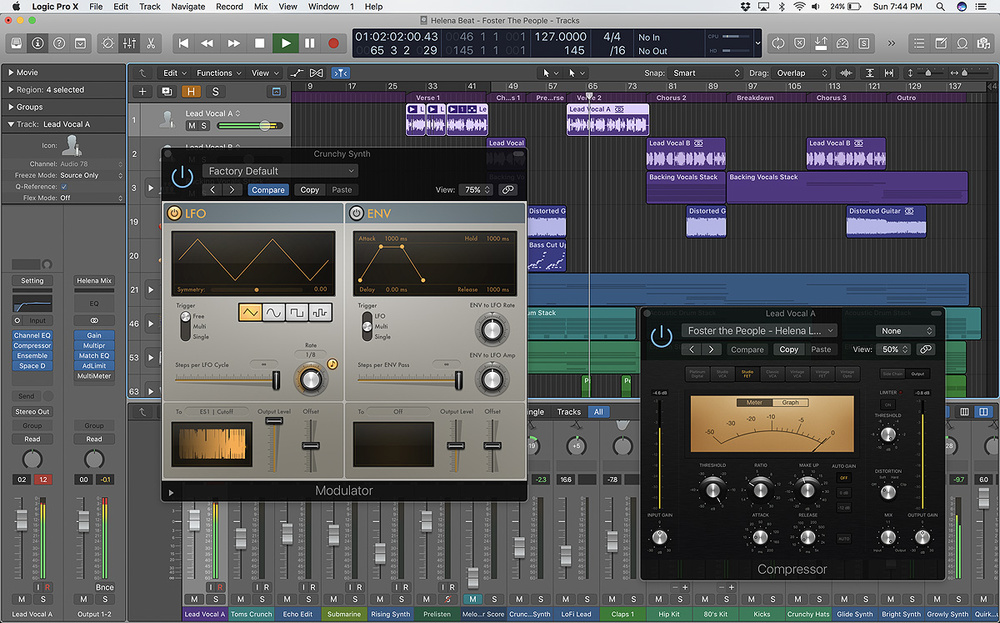 APPLE LOGIC PRO DRIVER (2019)