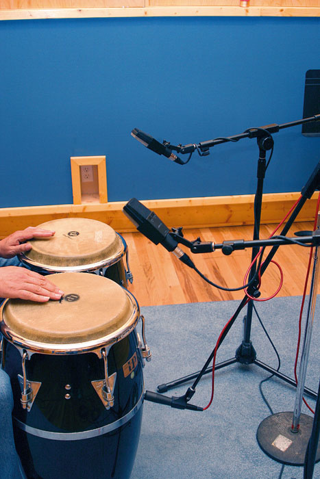 Recording Latin Percussion