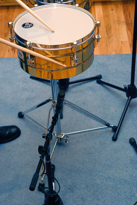 Recording Latin Percussion