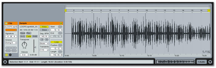 Warping 101 In Ableton Live