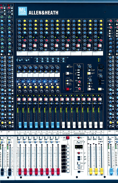 Stage Monitoring & Monitor Mixing