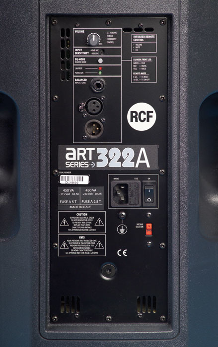 RCF ART 322A