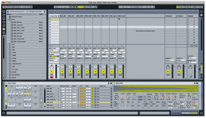 ableton macro banks