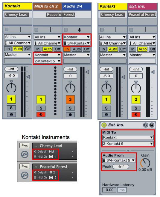 Using Kontakt In Ableton Live