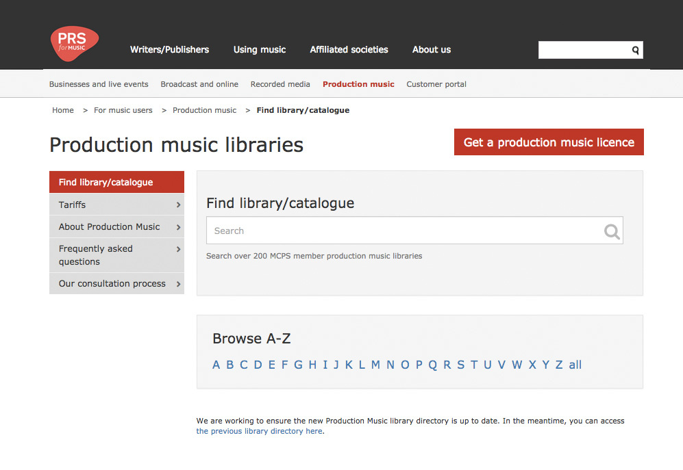 All About Library Music: Part 1