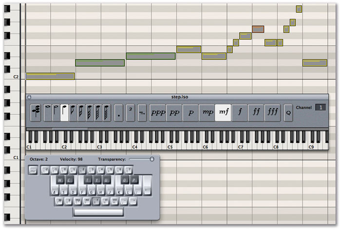 Step Sequencing In Apple Logic