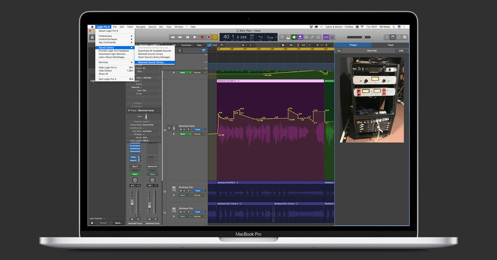 Logic Pro 10 4 2 allows photo notes, sound libraries on ext  HDs
