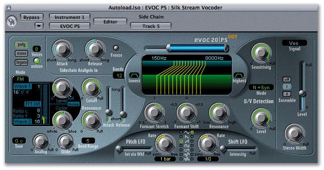EVOC20 Vocoding