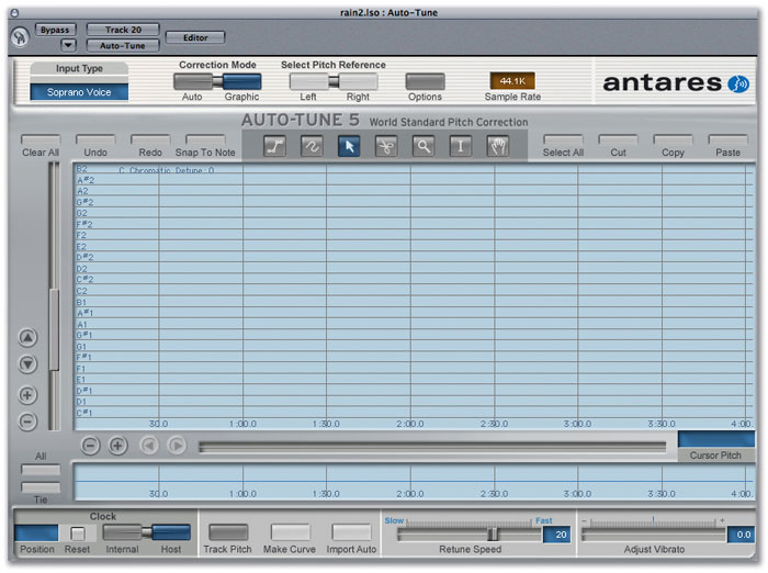 Pitch Correction with Logic