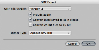 Exporting Logic Multitrack Files