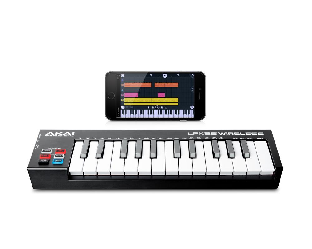 Akai unleash wireless Bluetooth MIDI controllers