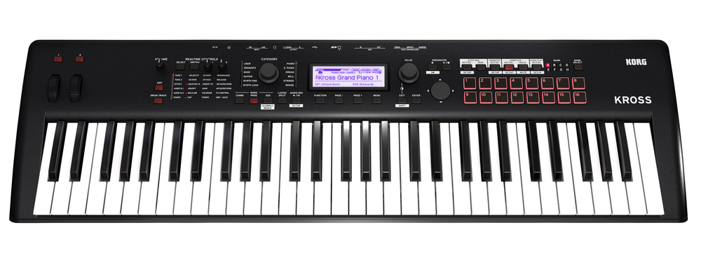 korg launch kross 2 synth new digital piano and arranger keyboards. Black Bedroom Furniture Sets. Home Design Ideas