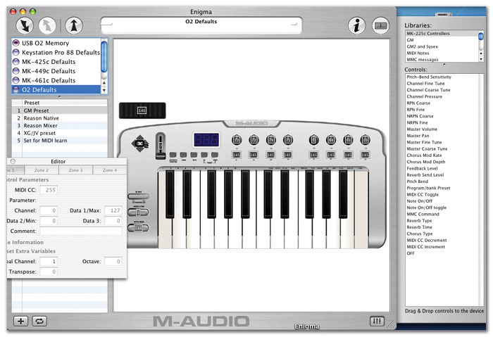 M-Audio O2