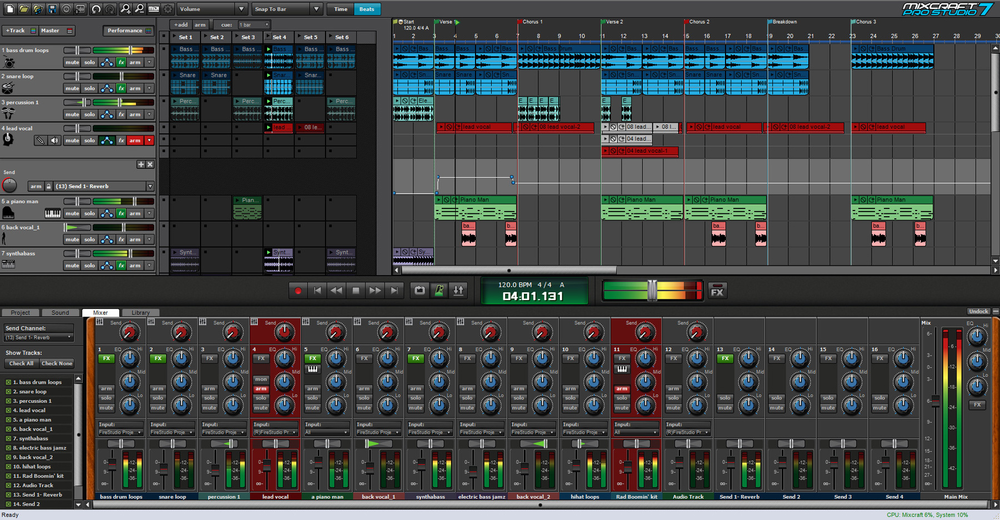 Acoustica release free update to Mixcraft 7 product line