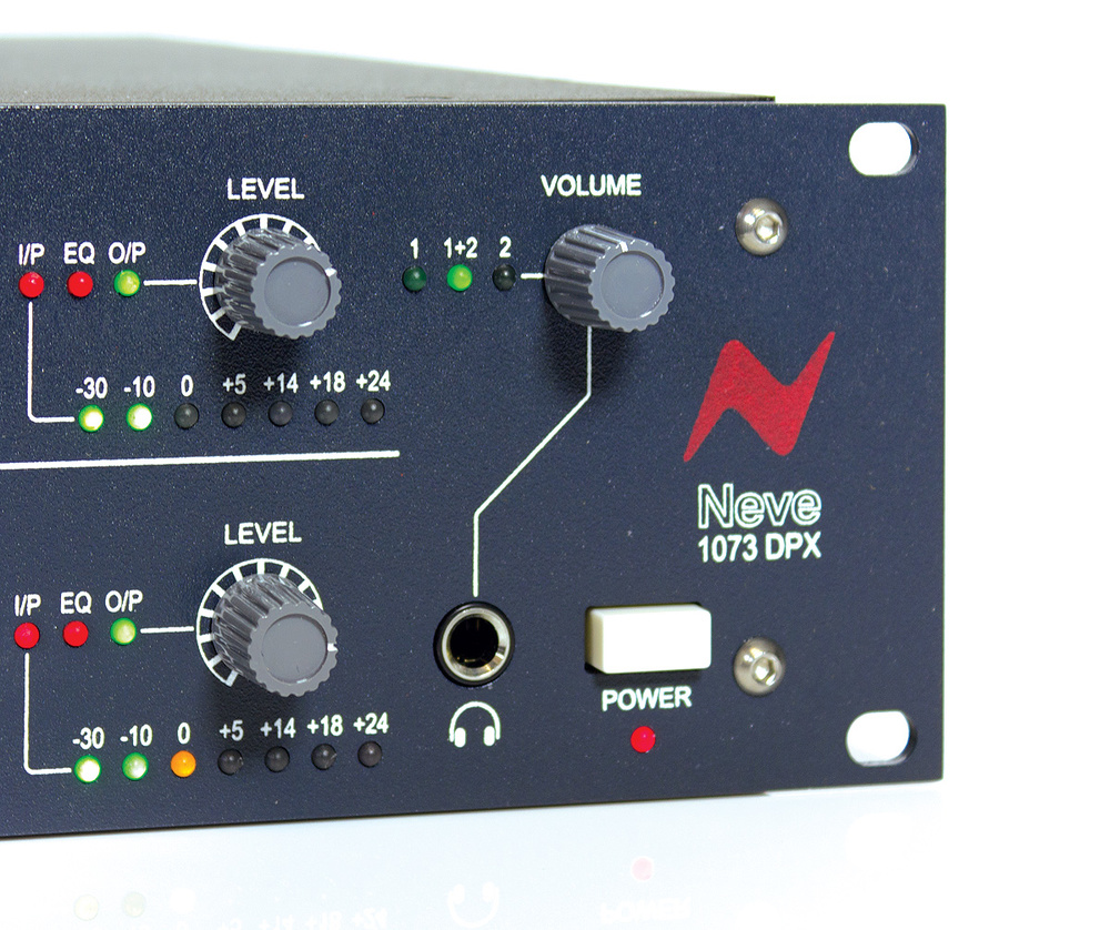 Not many of the various 1073 clones offer headphone monitoring facilities.