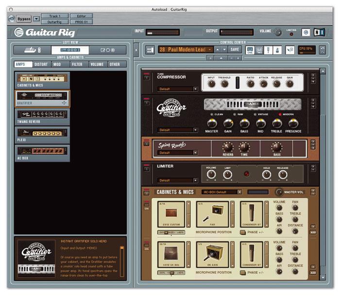guitar rig mac no sound