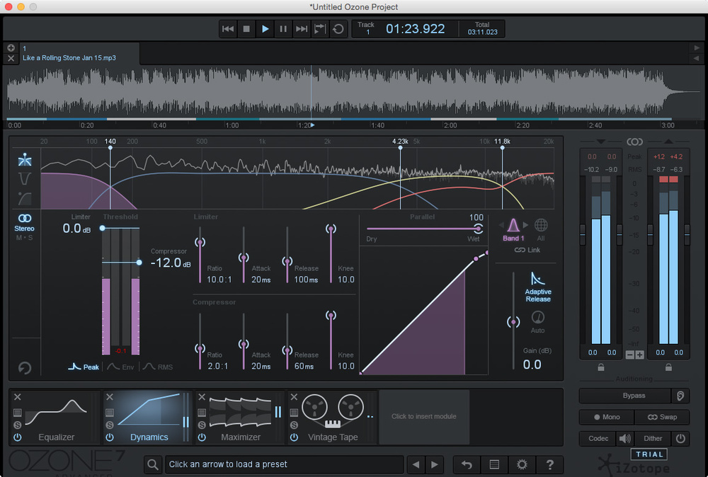 izotope ozone 5 mastering presets download