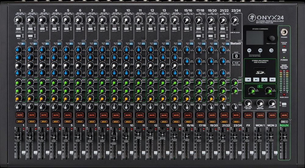 NAMM 2021: New Onyx mixers from Mackie